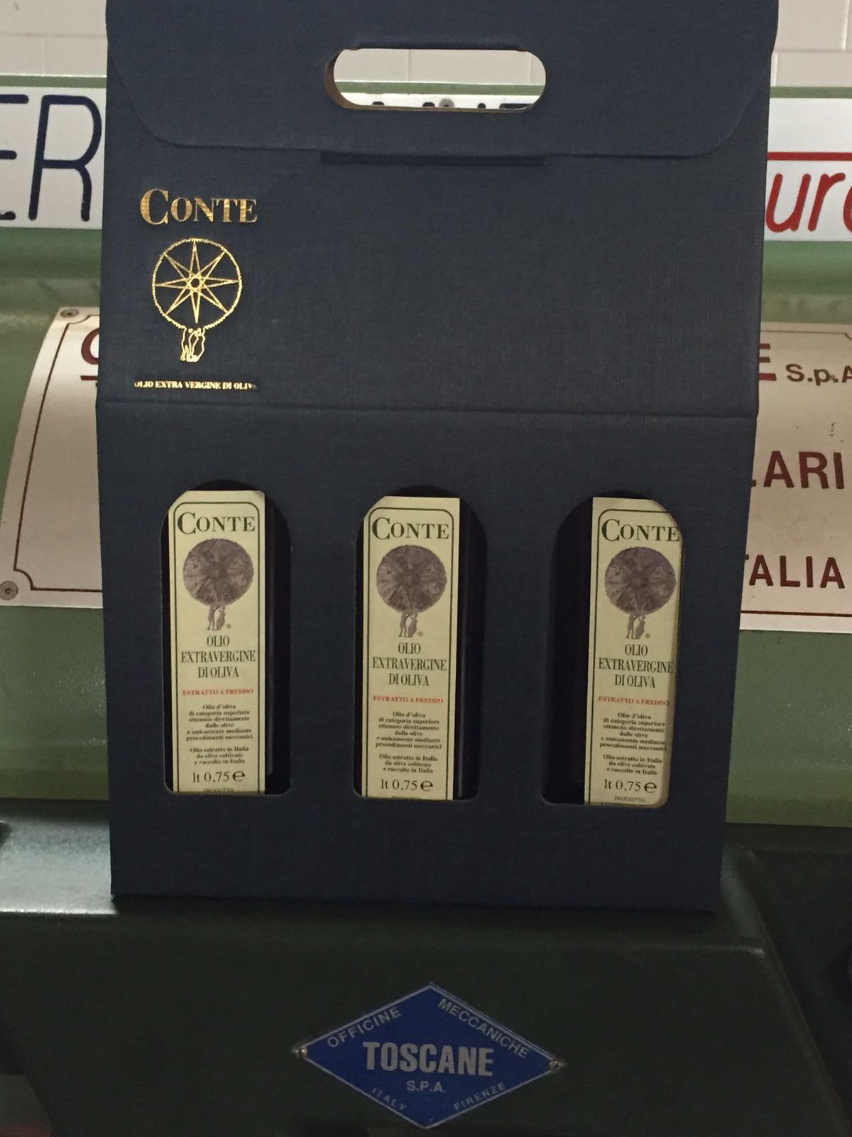 confezione regalo da tre bottiglie
